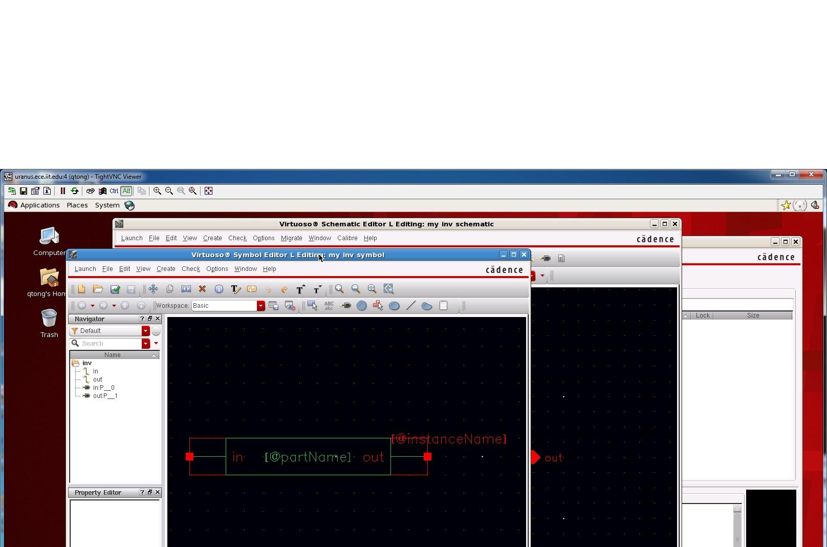 ECE429 Lab 2 - Tutorial I: Inverter Schematic and Simulation